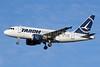 TAROM-Transporturile Aeriene Romane (Romanian Air Transport) Airbus A318-111 YR-ASA (msn 2552) LHR (Keith Burton). Image: 910278.