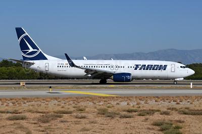 TAROM-Transporturile Aeriene Romane (Romanian Air Transport) Boeing 737-8H6 WL YR-BGL (msn 40145) AYT (Ton Jochems). Image: 955145.