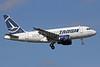 TAROM-Transporturile Aeriene Romane (Romanian Air Transport) Airbus A318-111 YR-ASC (msn 3220) LHR (Michael B. Ing). Image: 910282.