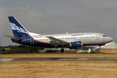 Aeroflot Nord Boeing 737-5Y0 OM-SEA (VP-BQI) (msn 25186) SEN (Keith Burton). Image: 900045.