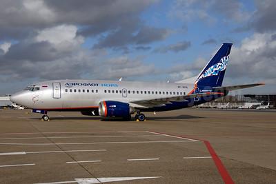 Aeroflot Nord Boeing 737-53C VP-BRE (msn 24827) AMS (Ton Jochems). Image: 953065.