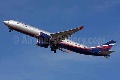 Aeroflot Russian Airlines Airbus A330-343 VQ-BQY (msn 1247) LHR (SPA). Image: 935205.