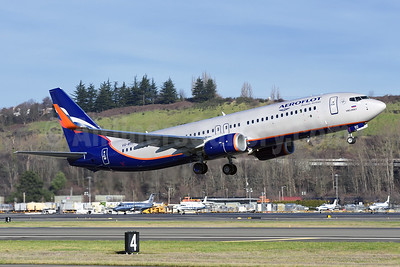 Aeroflot Russian Airlines Boeing 737-8LJ WL VQ-BVO (msn 41203) BFI (Steve Bailey). Image: 926114.
