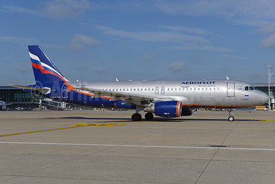 Aeroflot Russian Airlines Airbus A320-214 VP-BQU (msn 3373) BRU (Ton Jochems). Image: 924911.