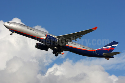 Aeroflot Russian Airlines Airbus A330-343 VQ-BQX (msn 1232) LHR (SPA). Image: 935204.