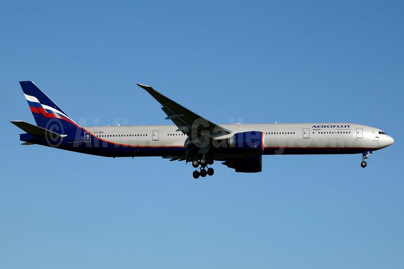 Aeroflot Russian Airlines Boeing 777-3M0 ER VQ-BUC (msn 41691) JFK (Jay Selman). Image: 403531.