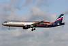Aeroflot Russian Airlines Airbus A321-211 VP-BTL (msn 5881) (Manchester United) LHR (Antony J. Best). Image: 922032.