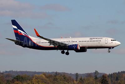 Aeroflot Russian Airlines Boeing 737-800 WL VP-BKN (msn 44441) ZRH (Andi Hiltl). Image: 946097.