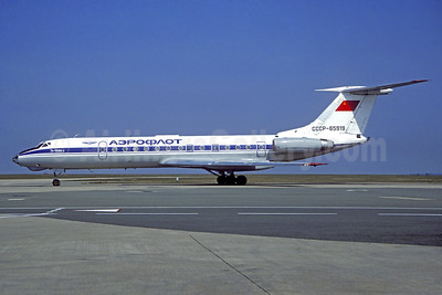 Aeroflot Russian International Airlines Tupolev Tu-134A-3 CCCP-65919 (msn 66168) CDG (Christian Volpati). Image: 937891.