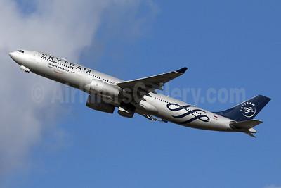 Aeroflot Russian Airlines Airbus A330-343 VQ-BCQ (msn 1058) (SkyTeam) LHR (SPA). Image: 941613.