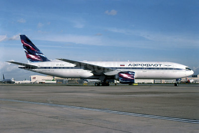 Aeroflot Russian Airlines Boeing 777-2Q8 ER VP-BAU (msn 27608) LHR (SPA). Image: 940447.