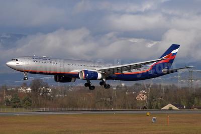 Aeroflot Russian Airlines Airbus A330-343 VQ-BCU (msn 1065) GVA (Paul Denton). Image: 935201.