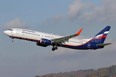 Aeroflot Russian Airlines Boeing 737-8LJ WL VP-BKF (msn 44440) ZRH (Andi Hiltl). Image: 939807.