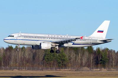 Aeroflot Russian Airlines Airbus A320-214 VP-BNT (msn 5614) (1956 retrojet) ARN (Stefan Sjogren). Image: 921108.