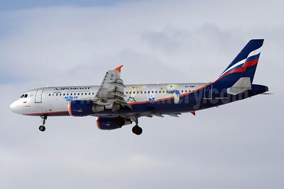 Aeroflot Russian Airlines Airbus A320-214 VP-BMF (msn 3711) (sochi.ru 2014 - 2014 Winter Olympics) SVO (OSDU). Image: 911705.