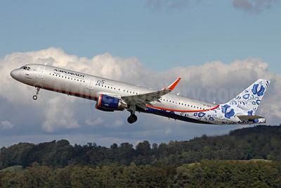 Aeroflot Russian Airlines Airbus A321-211 WL VP-BEE (msn 6726) (95th Anniversary) ZRH (Andi Hiltl). Image: 947766.