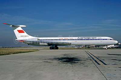 Aeroflot Russian International Airlines Ilyushin Il-62M CCCP-86473 (msn 3726841) (Official Olympic Carrier) ORY (Christian Volpati). Image: 908229.