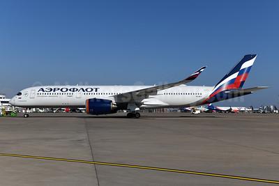 Aeroflot Russian Airlines Airbus A350-941 VQ-BFY (msn 383) AYT (Ton Jochems). Image: 955116.