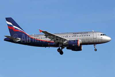 Aeroflot Russian Airlines Airbus A319-111 VQ-BBD (msn 3838) LHR (Michael B. Ing). Image: 909763.