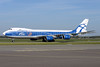 AirBridgeCargo Airlines-ABC Boeing 747-8HVF VQ-BLR (msn 37668) (25 Years) AMS (Ton Jochems). Image: 937736.