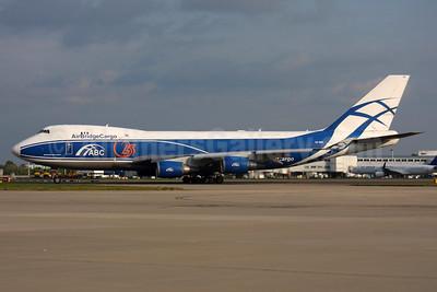 AirBridgeCargo Airlines-ABC Boeing 747-4KZF ER VQ-BHE (msn 36784) LHR. Image: 937613.