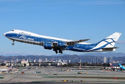 AirBridgeCargo Airlines-ABC Boeing 747-8HVF VQ-BRJ (msn 37670) (Pharma) LAX (Michael B. Ing). Image: 944615.