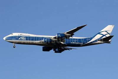 AirBridgeCargo Airlines-ABC Boeing 747-867F VQ-BVR (msn 60687) LHR (SPA). Image: 941430.