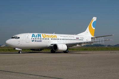 AirUnion-Kras Air Boeing 737-329 F-GRNV (msn 24356) AMS (Ton Jochems). Image: 954119.