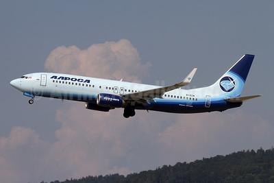 Alrosa Avia (Alrosa Air Company) Boeing 737-86N WL EI-ECM (msn 32658) ZRH (Andi Hiltl). Image: 947584.