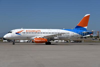 Azimuth Airlines (azimuth.aero) Sukhoi Superjet 100-95LR RA-89036 (msn 95070) AYT (Ton Jochems). Image: 954979.