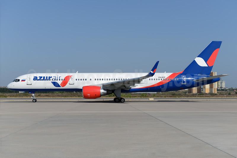 Azur Air Boeing 757-2Q8 WL VQ-BEZ (msn 29377) AYT (Ton Jochems). Image: 929491.