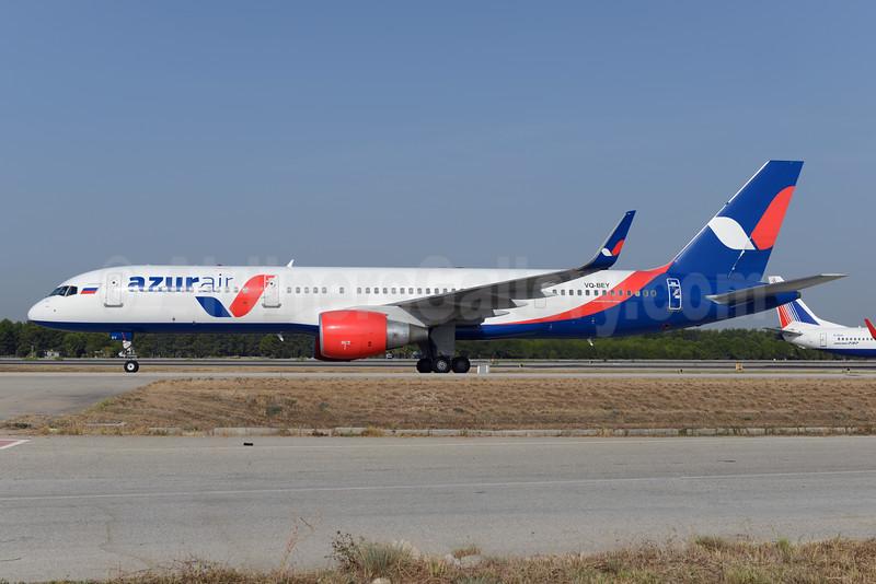 Azur Air Boeing 757-2Q8 WL VQ-BEY (msn 29382) AYT (Ton Jochems). Image: 929490.