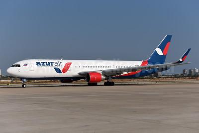Azur Air Boeing 767-3Y0 ER WL VP-BUX (msn 24947) AYT (Ton Jochems). Image: 945109.