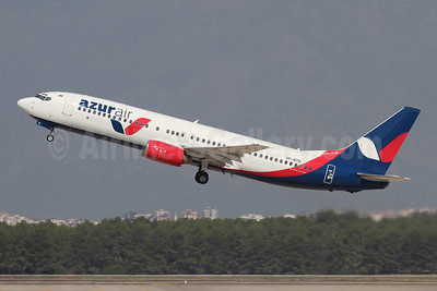 Azur Air Boeing 737-89L VP-BYD (msn 30160) AYT (Andi Hiltl). Image: 947507.
