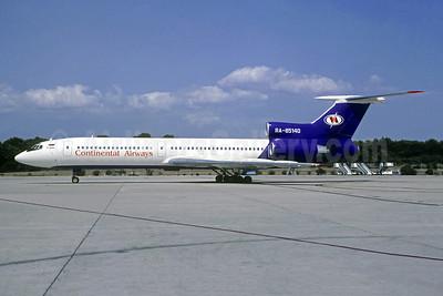 Continental Airways (Russia) Tupolev Tu-154M RA-85140 (msn 76A140) PMI (Christian Volpati). Image: 951597.