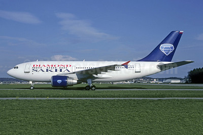 Diamond Sakha Airlines - Aeroflot Airbus A310-324 F-OGYM (msn 457) ZRH (Christian Volpati Collection). Image: 949906.