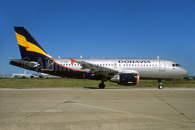 Donavia Airbus A319-112 VP-BBT (msn 1805) ORY (Jacques Guillem). Image: 935178.