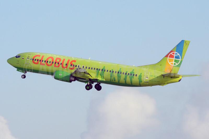 Globus Airlines (Russia) Boeing 737-4Q8 VP-BTA (msn 25168) DME (OSDU). Image: 924397.