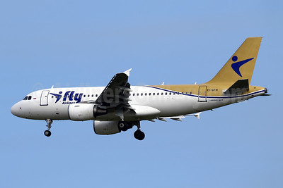 iFly's first Airbus A319, new livery
