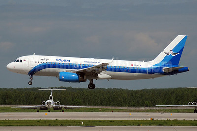 Kolavia (Onurair) Airbus A320-232 TC-KLA (msn 2029) DME (OSDU). Image: 905043.