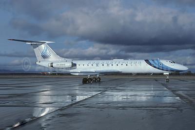 Komiiinteravia Tupolev Tu-134A RA-65606 (msn 46300) VKO (Christian Volpati Collection). Image: 945235.