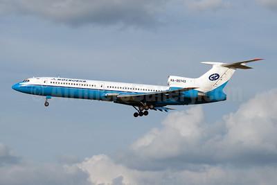 Moskovia Airlines Tupolev Tu-154M RA-85743 (msn 92A926) DME (OSDU). Image: 907831.