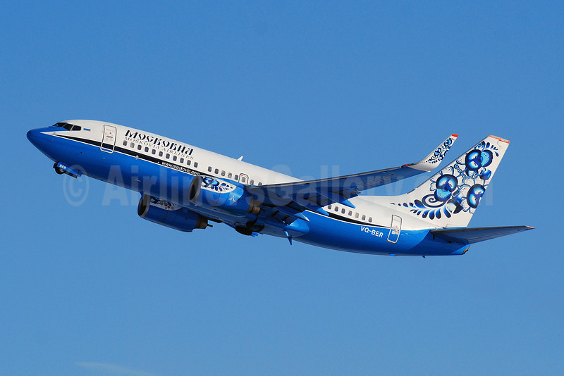 Moskovia Airlines Boeing 737-7L9 WL VQ-BER (msn 28006) DME (OSDU). Image: 907832.