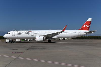 Nordwind Airlines Airbus A321-253N WL VQ-BJD (msn 8085) AYT (Ton Jochems). Image: 955069.