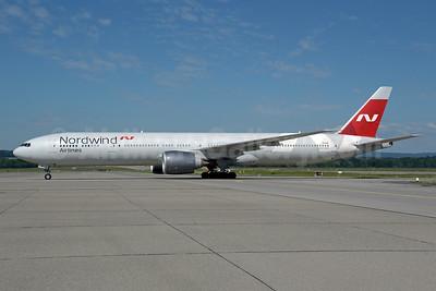 Nordwind Airlines Boeing 777-367 ER VP-BJP (msn 35299) ZRH (Rolf Wallner). Image: 950167.