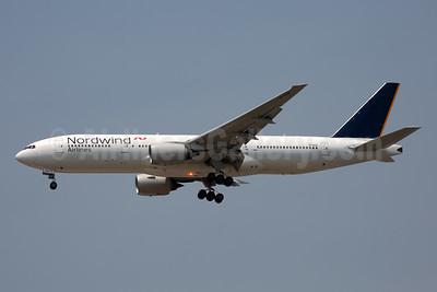 Nordwind Airlines Boeing 777-212 ER VP-BJH (msn 28533) BKK (Rainer Besten). Image: 946234.