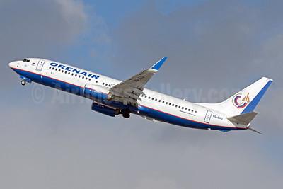 Orenair (Orenburg Airlines) Boeing 737-8LJ WL VQ-BVU (msn 41202) DME (OSDU). Image: 942920.
