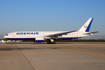 Orenair (Orenburg Airlines) Boeing 777-2Q8 ER VP-BHB (msn 29402) AYT (Ton Jochems). Image: 953887.