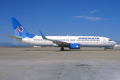 Orenair (Orenburg Airlines) Boeing 737-8FZ WL VQ-BTS (msn 41991) (Dobrolet colors) (Christian Volpati Collection). Image: 942919.