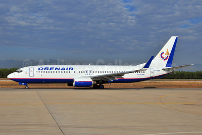 Orenair (Orenburg Airlines) Boeing 737-85R WL VQ-BEM (msn 29036) AYT (Ton Jochems). Image: 903709.
